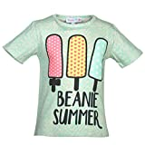 Beanie Bugs Printed Grey T-shirt for girls (12-18 months)