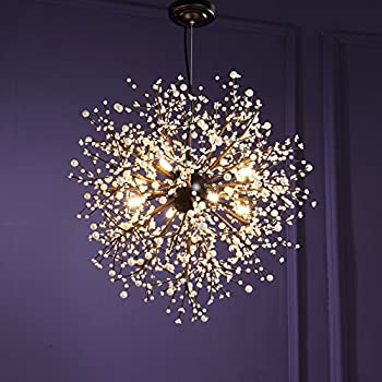 Blown Glass Crystal Pendant Lighting