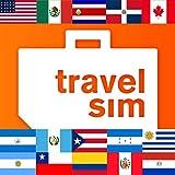 Tarjeta SIM para América-EE.UU.,Canadá, México, Costa Rica, República Dominicana, Guatemala, Honduras, Nicaragua, Puerto Rico, Argentina, Brasil, Chile, Colombia, Paraguay, Perú,Uruguay-2GB
