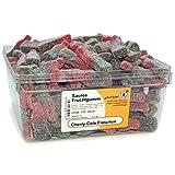 Export Suntjes - Cherry Cola Flaschen - Saures Fruchtgummi - Box - Inhalt: 150 Stück