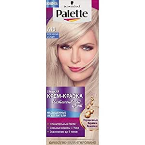 Palette Intensive Color Creme A10 Ultra Ash Blond by Schwarzkopf