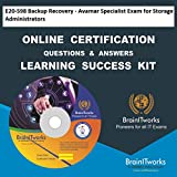 E20-598 Backup Recovery - Avamar Specialist Exam for Storage Administrators Online Certification Video Learning Made Easy