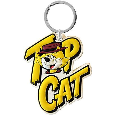 Top Cat PVC Keyring - 19404