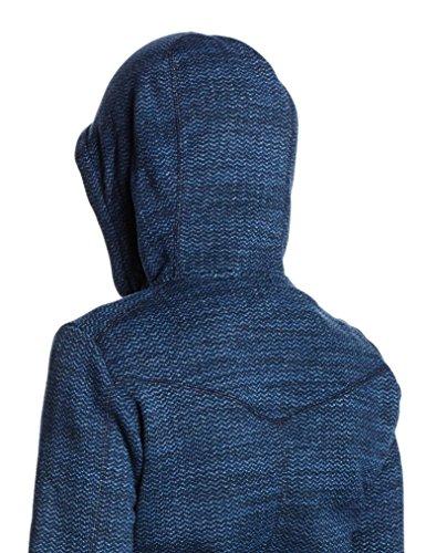 Salewa Damen Fanes Polarlite Full-Hoddie Blau (dark denim/8670)