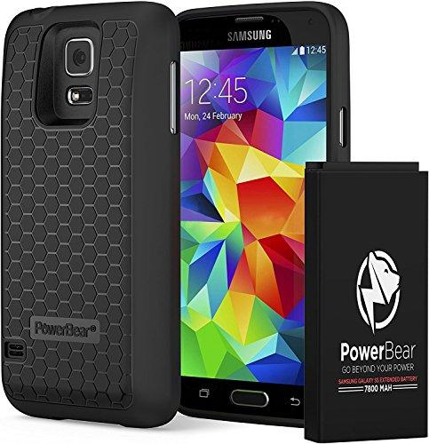 PowerBear Batería Extendida Compatible Samsung Galaxy