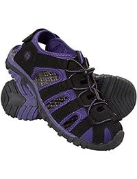 Mountain Warehouse Sandales Sandalettes Femme Scratch Confortable Randonnée Marche Voyage Trek