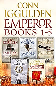The Emperor Series Books 1-5 by [Iggulden, Conn]