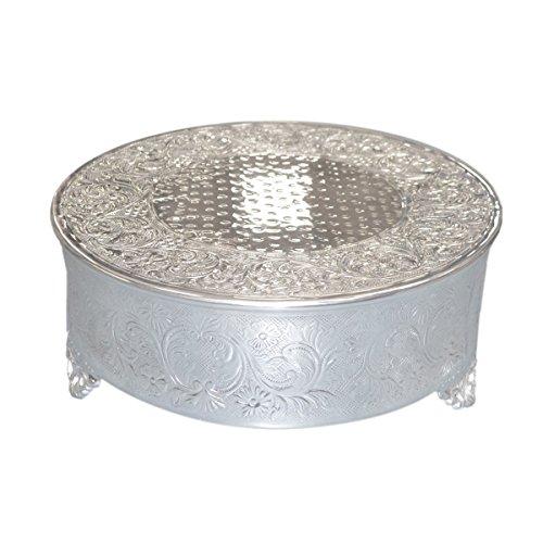 GTR-Prestige Giftware Poliert Metall Deko Kuchen Ständer (xrcs) (Stand Hochzeitstorte)