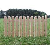 Holz Zaunelement Länge: 185cm - Anbauelement - Douglasie - 4089/7 DO