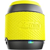 X-Mini ME XAM16-B Portable Thumb Size Speaker with 3.5mm Jack Compatible with iPhone/iPad/iPod/Smartphones/Tablets/MP3 Player/Laptop - Yellow