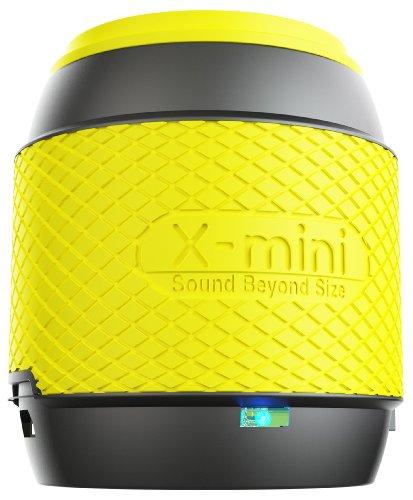 X-Mini ME Ultra Tragbarer Lautsprecher für iPhone/iPad/iPod/MP3 Player/Laptop - Gelb (Erste Generation Ipod Lautsprecher)