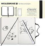 Neolab Moleskine Bundle Smartpen N2 und Moleskine Notebook für Android und iOS silber