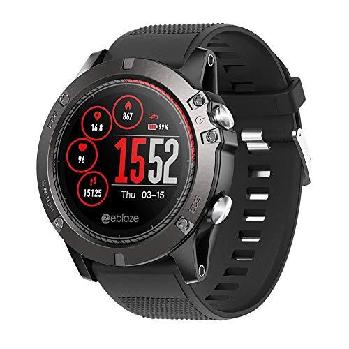 Sports reloj inteligente reloj ritmo cardíaco impermeable