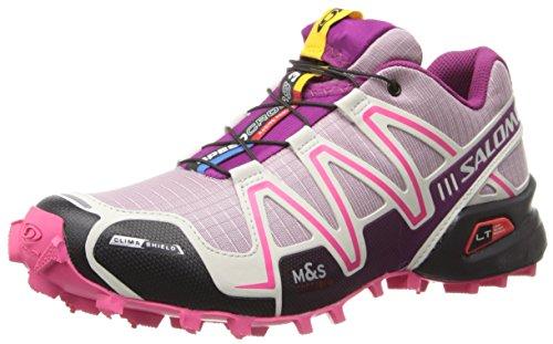 Salomon Speedcross 3 CS W - Zapatos para Mujer, Color Morado, Talla 36.5