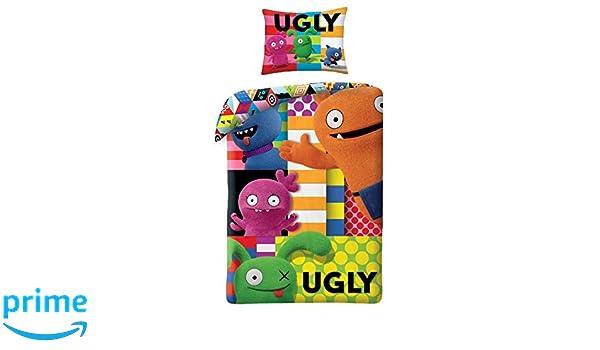 Ugly Dolls Bettw/äsche 140x200cm UG-401BL