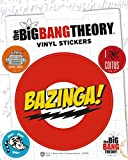 1art1 80736 Big Bang Theory - Bazinga, Vinyl Sticker Set Poster-Sticker Tattoo Aufkleber 12 x 10 cm
