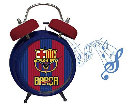 CYP Imports DM-09-BC Despertador Musical, Diseño Futbol Club Barcelona