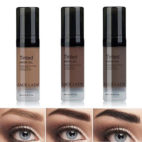 LADY Tintes Cejas Permanentes Maquillaje Natural Colores