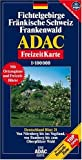 ADAC FreizeitKarte, Bl.21, Fichtelgebirge, Fränkische Schweiz, Frankenwald -