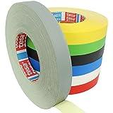 Tesa 4651 Premium geweven tape keuze uit verschillende breedtes en kleuren / grijs 19 mm x 50 m