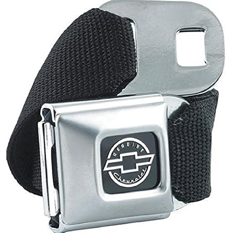 Producto oficial de Chevrolet de plumón de cierre magnético para cinturón con diseño de y cierre de hebilla de regalo de Chevy Silverado Combo Corvette negro de palos de golf