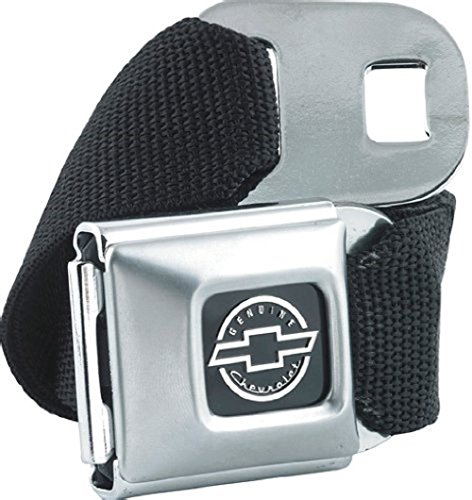 buckle-down-official-chevrolet-seat-belt-and-buckle-combo-chevy-silverado-corvette-gift-black-regula