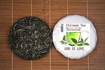 Thé noir Pu erh, thé à tête non fermentée de tête supérieure, gâteau au thé de 200 grammes