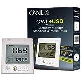 OWL +USB Drahtloser Energiemonitor Smart Meter 3 Phase Pack