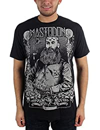 Mastodon - Mens Beard Slim Fit T-shirt in Black