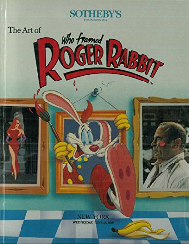 The Art of Who Framed Roger Rabbit - Sotheby's New York Catologue June 28 1989