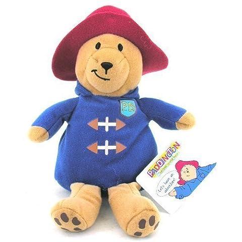 Paddington Bear 14 cm-Peluche-Manteau bleu et chapeau rouge)