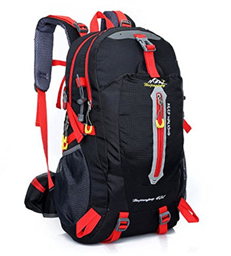Ben Exploring 40L impermeabile outdoor sports escursionismo campeggio viaggio zaino trekking arrampicata zaino borsa, navy green Black