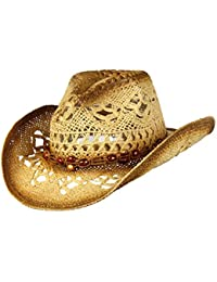 5382e4ce5d00a Saddleback Hats Shapeable Toyo Straw Cowboy Hat With Beaded Trim Band