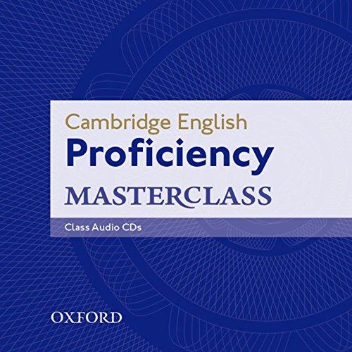 Cambridge English: Proficiency (CPE) Masterclass: Proficiency Masterclass. Class CD 2012 3rd Edition (Proficiency Masterclass Third Edition) por Kathy Gude