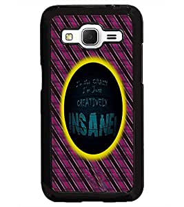 PrintDhaba Quote D-5008 Back Case Cover for SAMSUNG GALAXY CORE PRIME (Multi-Coloured)