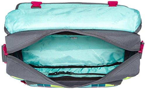 Chiemsee Borsa a tracolla unisex borsa da Shoulderbag, Messenger Bag, Borsa Plaid Blazing, Unisex, Umhängetasche Shoulderbag, Great Checker, 39 x 13 x 28 cm, 15 Liter Karo Blue Caba