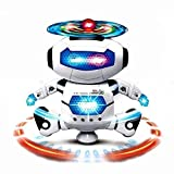 Dancing Robot with 3D Lights and Music, Multi Color/For 1-3 Years of Kids by JAGs&M