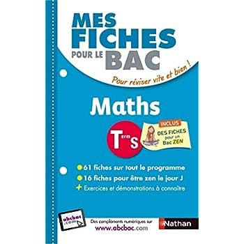 Mes fiches pour le BAC Maths Term S