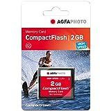 AgfaPhoto Compact Flash 2GB - Memoria Compact Flash de 2 GB, negro