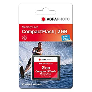 AgfaPhoto Compact Flash 2GB - Memoria Compact Flash de 2 GB, Negro (B0034625QE) | Amazon price tracker / tracking, Amazon price history charts, Amazon price watches, Amazon price drop alerts