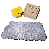 PUEEN Nail Art Stamp Collection Set 24M - Make Your Day - NEWEST Unique Set of 24 Nailart Polish Stamping Manicure Image Plates Accessories Kit (Total