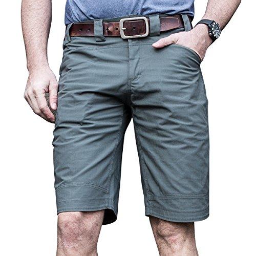 Free Soldier Outdoor Herren Urban Tactical Shorts atmungsaktiv Sommer Shorts XL Grau / Gr�
