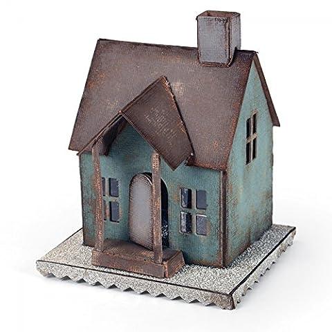 Sizzix 660992 Bigz Die Habitacle pour Village par Tim Holtz Plastique Multicolore 37,5 x 15,2 x 2 cm