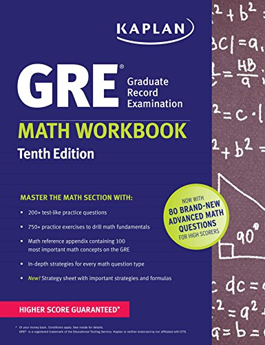 GRE(R) Math Workbook (Kaplan Test Prep)