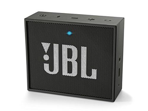 JBL GO Diffusore Bluetooth Portatile, Ricaricabile, Ingresso Aux-In, Vivavoce, Compatibilità Smartphone/Tablet e Dispositivo MP3, Nero
