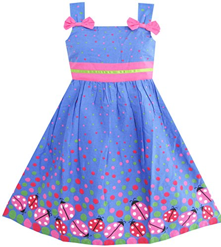 sunny-fashion-robe-fille-bleu-punaise-rose-point-6-ans