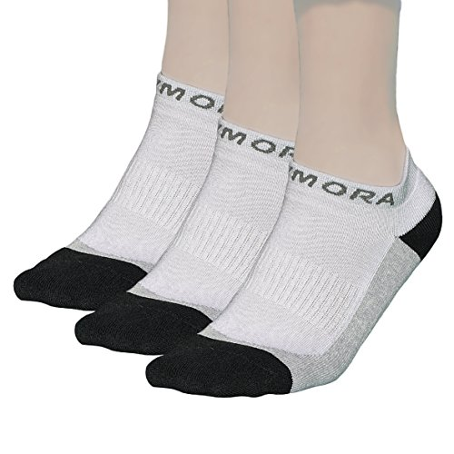 Rymora Trainer/Ankle Socks (Premium Quality, Cushioned, Ventilated, Cotton Rich, No Show Low Cut, Seamless Toe Seams, Unisex for Men and Women)