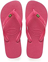 bafb10bb9220 Havaianas Unisex Adults  Brasil Flip Flops