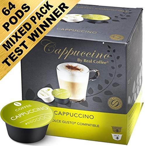 Pack de Dégustation Mixte - 64 Capsules Compatibles Dolce Gusto (Pack de 4 avec 64 Capsules)