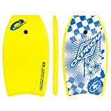 Osprey Stingray Bodyboard with Leash, 33 Inch Boogie Board for Kids and Adults